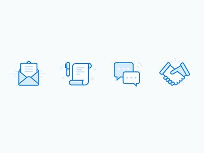 Hiring Process Icons hire icon