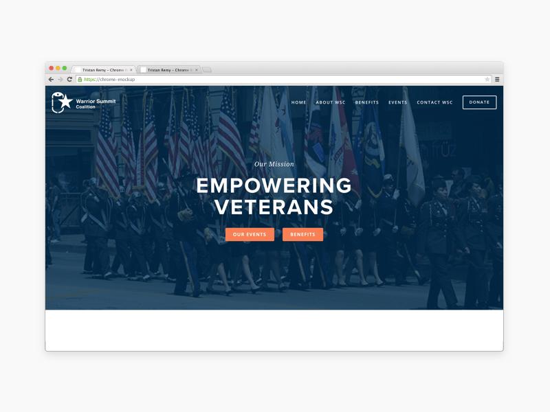 Warrior summit website