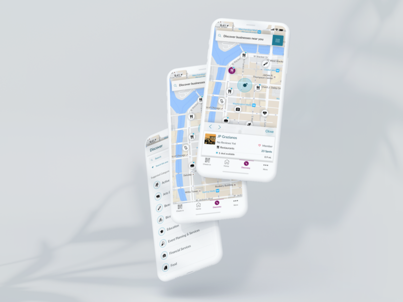 SpotOn Discovery Map discover spoton map ios