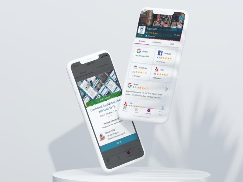 SpotOn App Screens spoton apple app ios