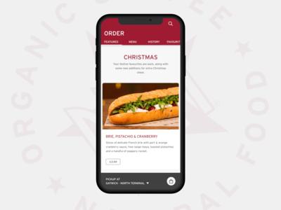 Pret a Manger App Concept ★