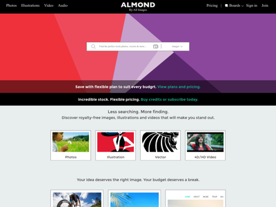 Almond by Ali Images graphic design newsletter landingpage classic vector branding uiux minimal creativity xd design website design uidesign