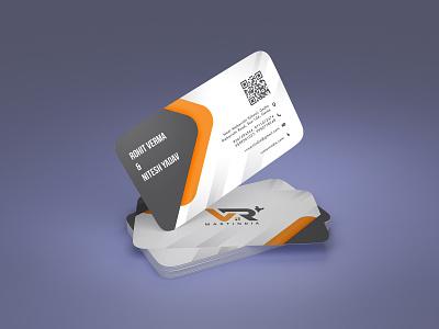 VR Mart India Visiting Card by Shankar Gairy creative design illustrator photoshop logo website branding visiting card