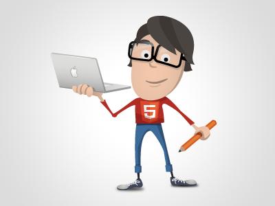 HTML5 Geek Icon  yootheme icon icons illustration