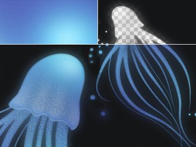 Jellyfish Background