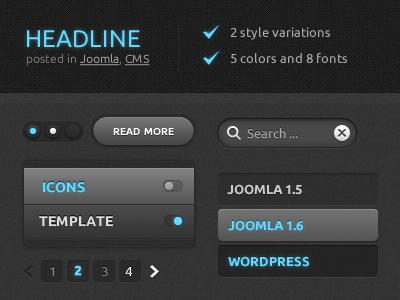 Theme June 2011  yootheme theme themes joomla wordpress template templates
