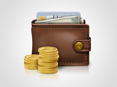 Wallet Icon yootheme icon icons wallet shopping