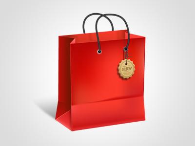 Shopping Bag Icon yootheme icon icons shopping bag shopping