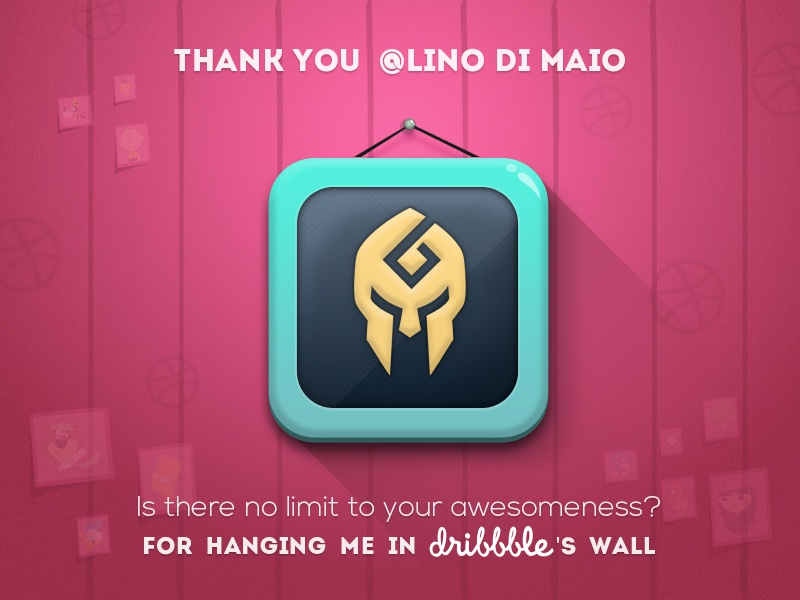 Thanks @Lino Di Maio thanks innorriors wall frame thanks post