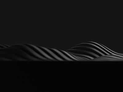 Wave speaker developement sophisticated irregular style black designthinking fashion pattern wireless design product design product industrial design id portable sound music audio bluetooth speaker