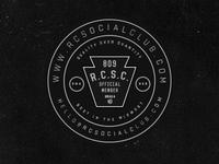 R.C.S.C. Coasters