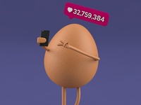 Render 015 - Selfie Egg