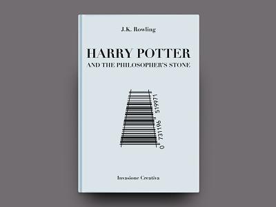 Barcover Invasione Creativa: Harry Potter harry potter icon minimal publishing editorial design editorial