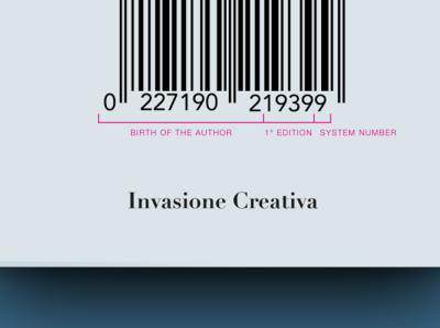 Barcover Invasione Creativa: Barcode System barcode minimal design publishing icon cover editorial design editorial