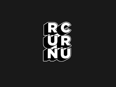 New Balance 'RUNCRU' wordmark | Logo design vector print digital illustration concept clean art icon iconography logo design photoshop typo lettering wordmarks run lettermark logo illustrator typogaphy wordmark branding