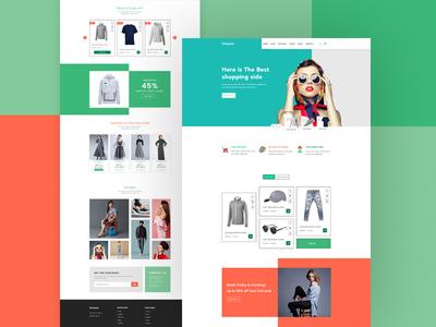 Shopper Landing Page