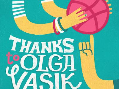 Thanks to Olga Vasik