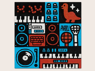 SBP4 musician studio music illustration sbp4 sbp4