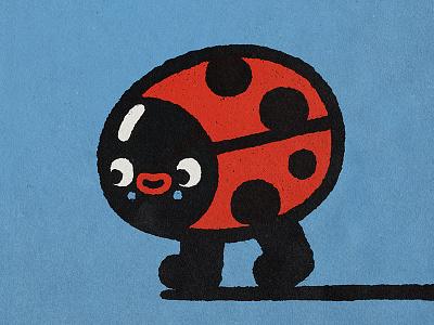 Ladybug character design character japan cartoon happy smile fun japanese 🚶🏻♂️ cute kawaii doodle illustration