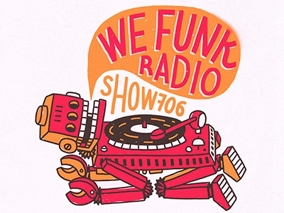 We funk radio show 706 dribbble3