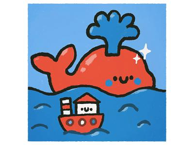 Kit sea design character smile cartoon japanese fun cute kawaii doodle illustration