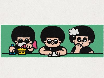 Experiment japan art japanese fun cute kawaii doodle experiments experimentation illustration experiment