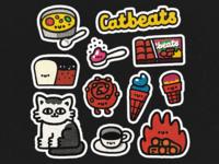 CatBeats Stickers