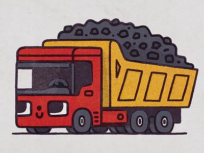 Truck truck japan happy smile japanese fun cartoon illustration cute kawaii doodle
