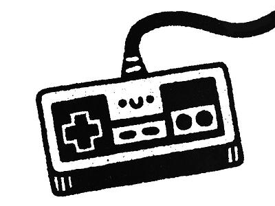 Gamepad vector happy smile japanese cartoon fun cute kawaii doodle illustration gamepad