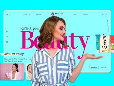 Beauty Fuel Landing Page