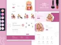 Auburn Studio Web Landing Page
