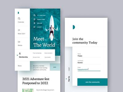 Meet the World application ios design ui branding app design design flat design trending uiux meet the world travel world meetup