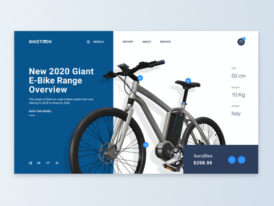Cycle Website Ui layout design layouts color design flat design trending concept clean cycling sport navigation rental uiux web design webdesign website cycles cycle