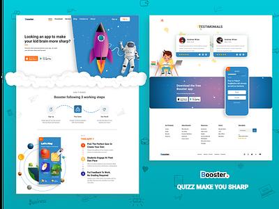 Quizz Ui 3d illustration app design flat design trending uiux website concept webdesign layoutdesign landingpage concept design website design websites quizz app quizzes quiz
