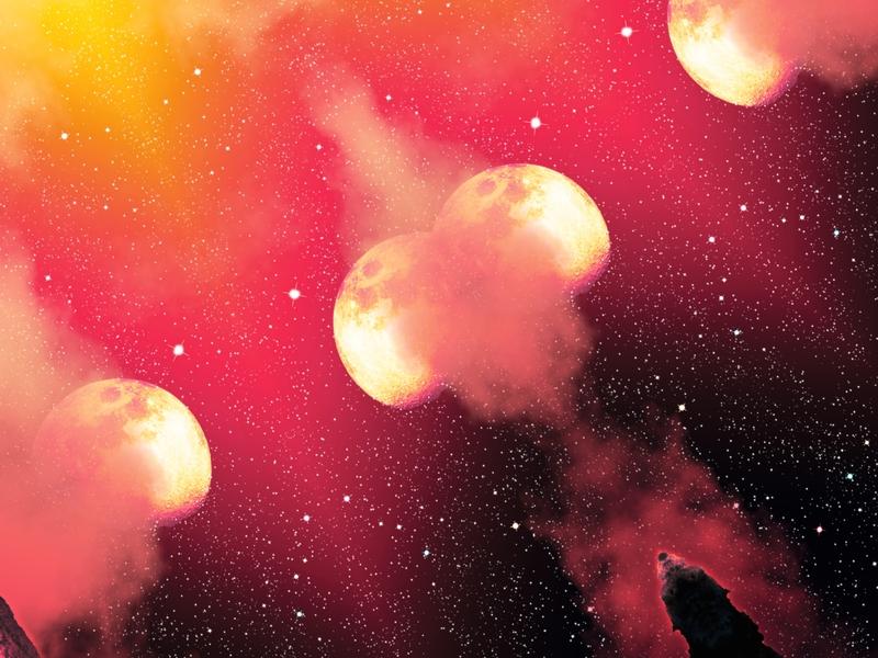 Mirroring COVES stars science nasa space galaxy interior scifi landscape poster decor pattern print mirror cyberpunk science ficton fantasy astrology retrofuture wall  art digital art