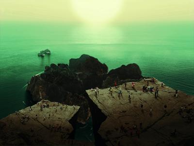 """""""Dreamscape 9"""" Green Sierra"""