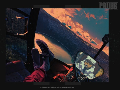 """""""PAUSE"""" #8 furniture scenery mountains landscape stars nasa space galaxy interior decorate home poster scifi"""