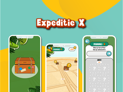 Expeditie X icon ux ui app illustration design