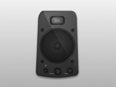 Speaker speaker sketch vector