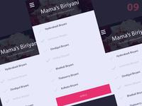 Biriyani List