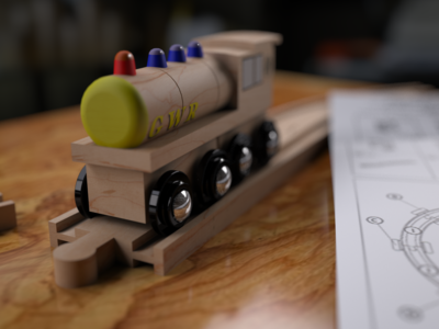 3ds Max Illustration Of A Toy Train 16511731973 O