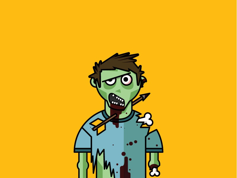 Zombie Profile Pic zombie halloween blood brains