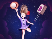 Space Holiday, An illustrated dream