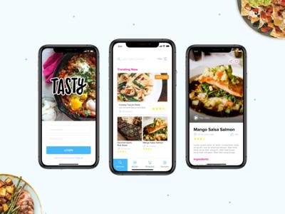 Tasty App Redesign
