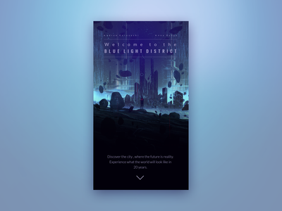 Mobile Landing Page - Daily UI Challenge 3