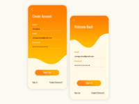 Login Page - Daily UI - Day 1