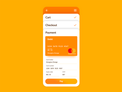 Payment Page - Daily UI - Day 2