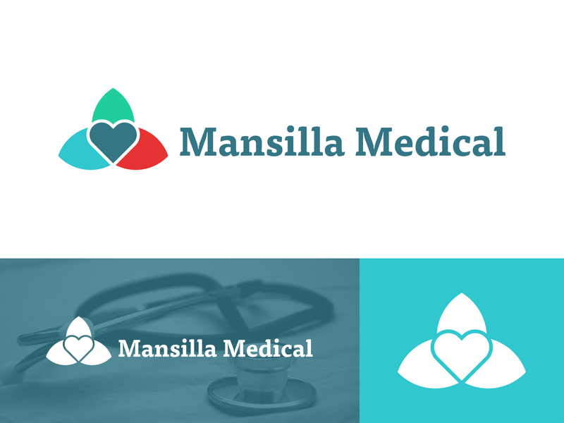Mansilla Medical - Brand Identity branding logo design logo brand identity