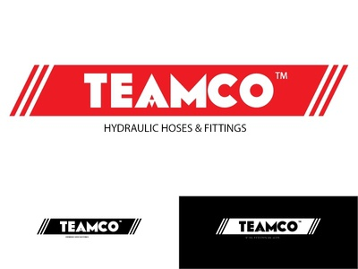 Teamco - Hydraulic hoses and fittings logo design