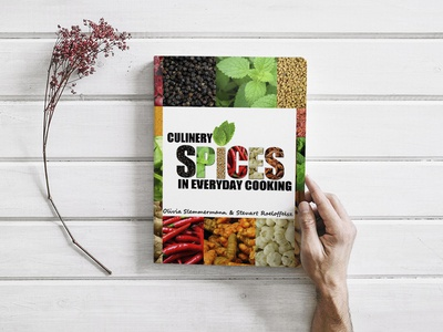 Culinery Spices Book Cover Design